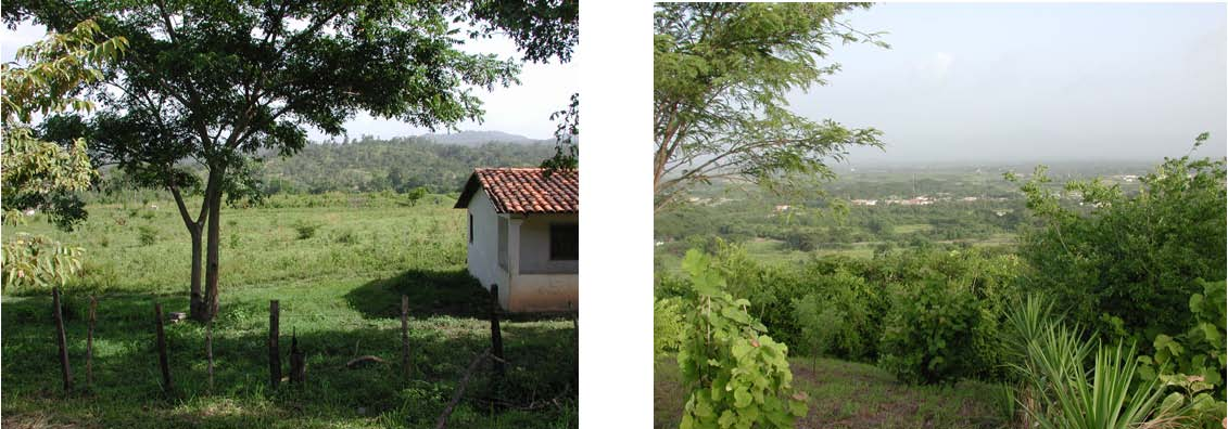 Two Images House and View of Juticalpa from a Distance