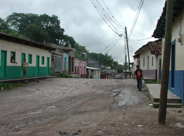 Image of street in Juticalpa