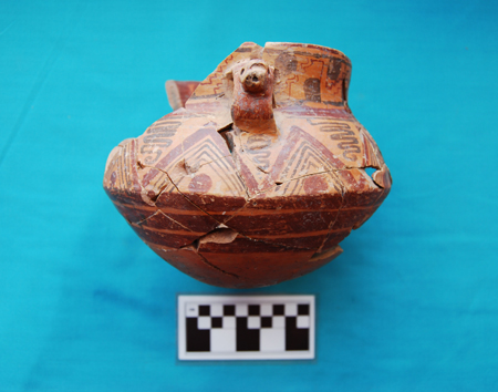 Image of polychrome vessel